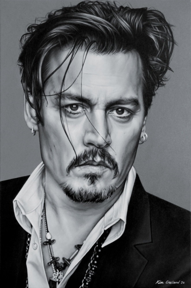 Johnny Depp by chaosart